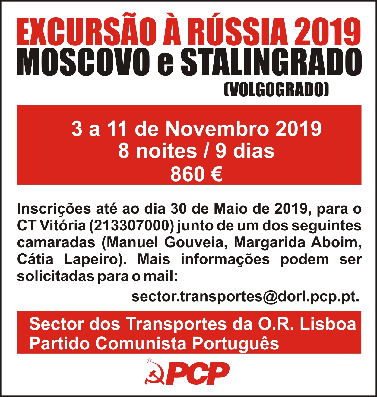 cartazete excursao 2019